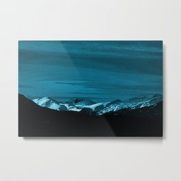 The Mountains Bring Peace Metal Print
