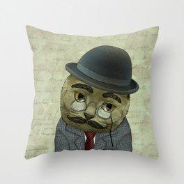 Vintage Cat Throw Pillow