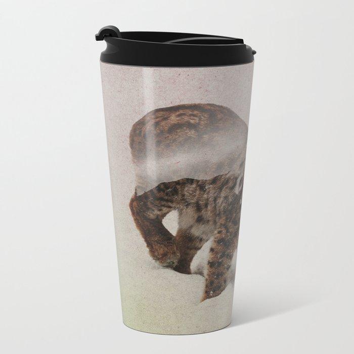 Lynx Metal Travel Mug