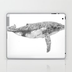 A Humpback Whale Laptop & iPad Skin