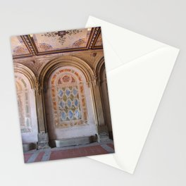 NYC Central Park at Bethesda Terrace Stationery Cards