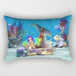 Bioluminescence Wonders Rectangular Pillow