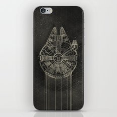 Millennium Falcon iPhone Skin