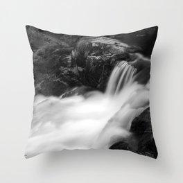 Dreamy falls Throw Pillow