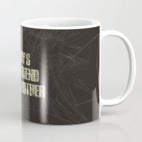 cinema Mugs featuring Cinema #4 by Rafael CA
