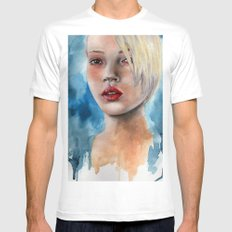 February Kate Mens Fitted Tee White SMALL