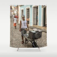 dj Shower Curtains featuring DJ by miloezger
