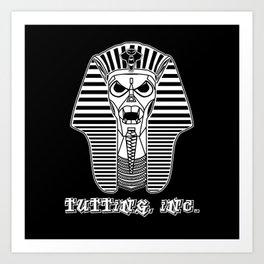 Tutting, Inc. - Pharaohtron Art Print