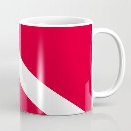 Diver Flag Coffee Mug