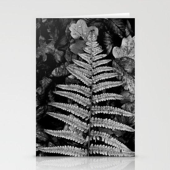 fern leaf VI Stationery Cards