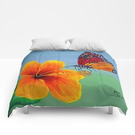 Lily with Butterfly Comforters