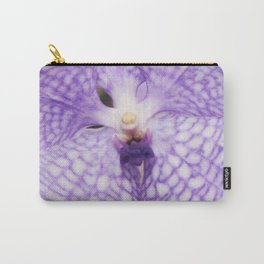 Purple Phalaenopsis Orchid Detail Carry-All Pouch