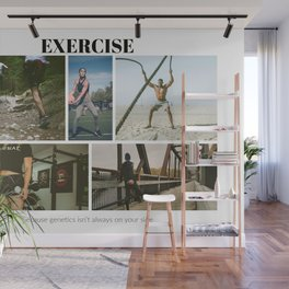 Exercise Wall Mural