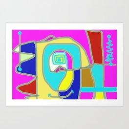 mechanical Art Print