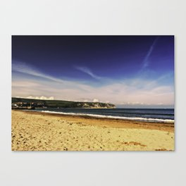 Swanage Bay. Canvas Print