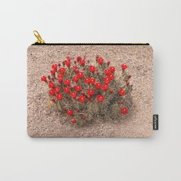 Sandia Cactus Flowers Carry-All Pouch