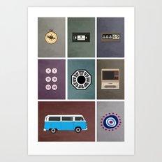 lost colors Art Print