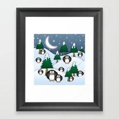 BRRRRRR! It's Chilly Framed Art Print