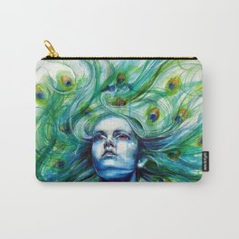 Peacock- Metamorphosis Carry-All Pouch