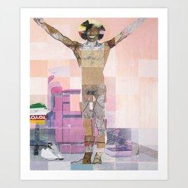 Caster Semenya's Gender Test Art Print