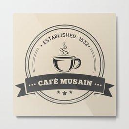 Café Musain Metal Print