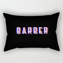 Barber Vintage Classic Barber Retro Distressed Gift Rectangular Pillow