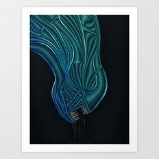 Alien - H.R. Giger Tribute Art Print