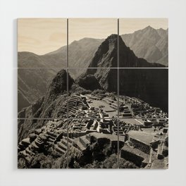 Machu Picchu v.2 Wood Wall Art