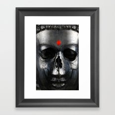 LORD BUDDHA Framed Art Print