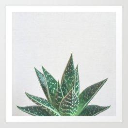 Aloe Tiki Art Print