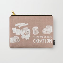 Weapons Of Mass Creation - Photography (white) Carry-All Pouch