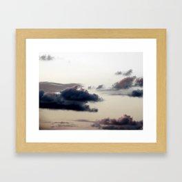 Cloudy Sky II Framed Art Print