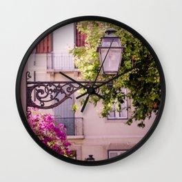 Lisbon Lamp Wall Clock