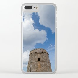 Tower Alcaufar, Menorca Clear iPhone Case