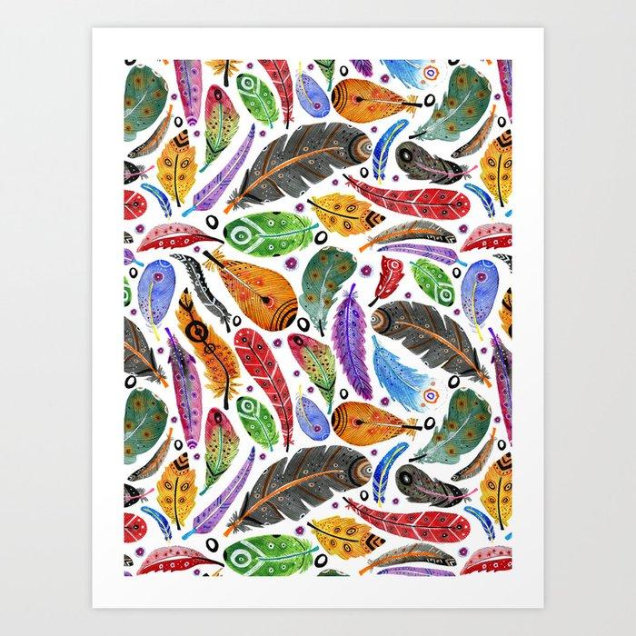 Boho Summer Art Print