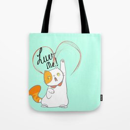 exotic short kitty Tote Bag