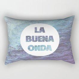 La Buena Onda (Good Vibes) Rectangular Pillow