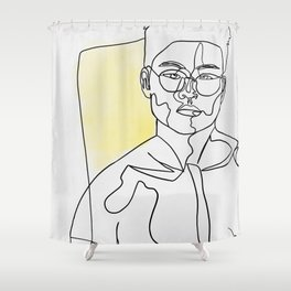 Self Made Shower Curtain