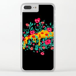 PIZZA GARDEN Clear iPhone Case
