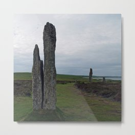 At Brodgar Metal Print