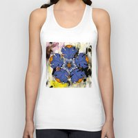 baroque Tank Tops featuring Baroque Flower by FakeFred
