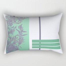 Violet Foliage #society6 #spring Rectangular Pillow