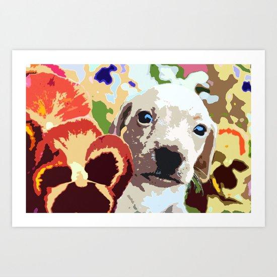 """""""Fata Flora"""" ~ Dachshund, Weiner Dog, Doxie, everywhere! Art Print"""