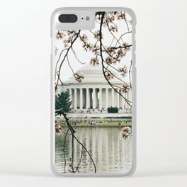 Jefferson Memorial Clear iPhone Case