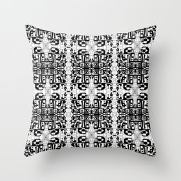 JES' PUZZLED FACE Throw Pillow