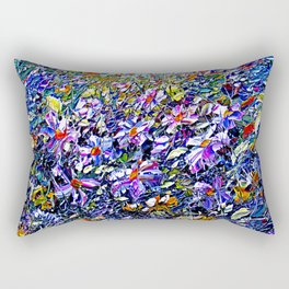 Dense Fascination Rectangular Pillow