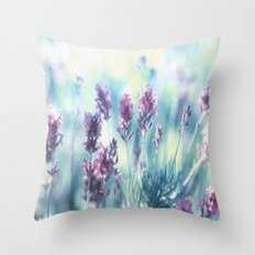 Lavender Summerdreams Throw Pillow