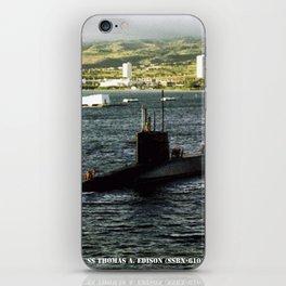 USS THOMAS A. EDISON (SSBN-610) iPhone Skin