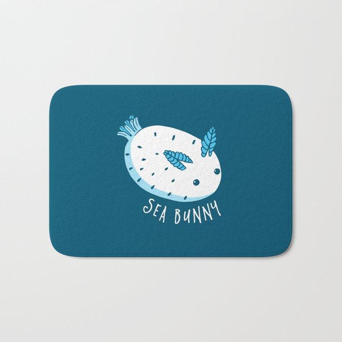 Sea Bunny Bath Mat