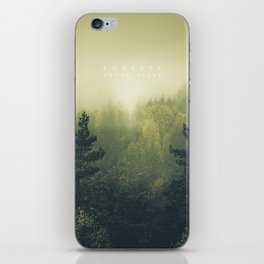 Forests never sleep iPhone Skin